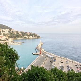Výhled na přístav z Castle Hill