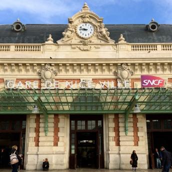 Vlakové nádraží v Nice