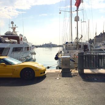 Přístav v Monacu