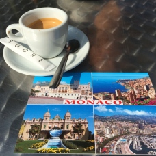 Pohled z Monaca