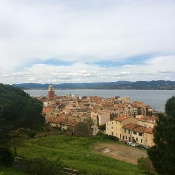 Výhled na celé St. Tropez