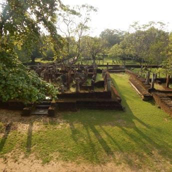 Staré město Polonnaruwa