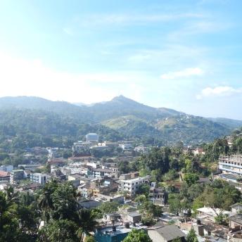 Výhled na Kandy