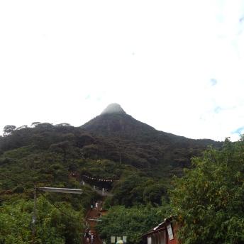 Adam's Peak v 7 hodin ráno