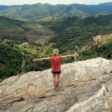 Na vrcholu vodopádu