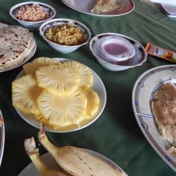 Srílanská snídaně