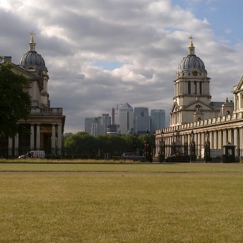 The Old Royal Naval College a Canary Wharf