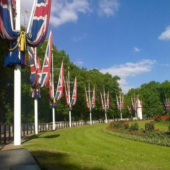 Okolí Buckingham Palace