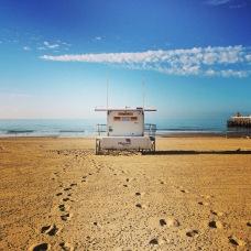 Pláž v Bournemouth