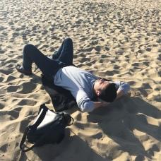 Šlofík na pláži