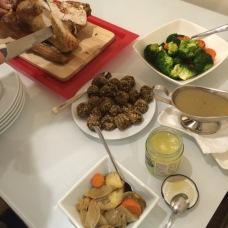 Naše první anglická vánoční večeře
