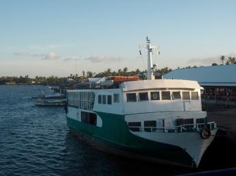 Loď z Hagnayan na Bantayan