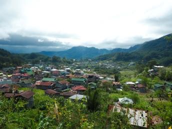 Výhled na Sagadu