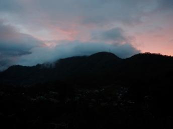 Západ slunce v Echo Valley