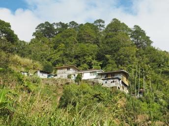 Obydlí v Banaue