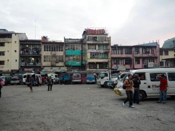Zastávka Dangwa v Baguio