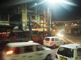 Noční ruch v Baguio