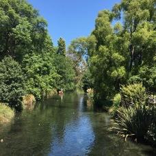 Christchurch botanická zahrada
